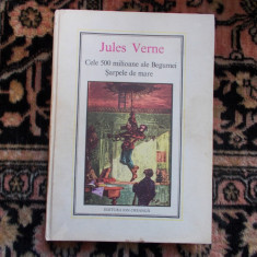 Jules Verne -   Cele 500 milioane ale Begumei - Sarpele de mare
