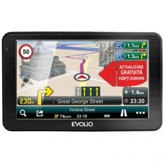 Sistem de navigatie Preciso 7, diagonala 7'', Harta Full Europa + Update gratuit al hartilor pe viata, Evolio