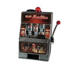 Pusculita Slot Machine, LED, 19x12 cm, JackPOT muzical, ABS