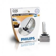 Vision Bec cu xenon pentru faruri auto D3S, 42 V, 35 W Philips