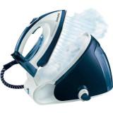 Statie de calcat PerfectCare Expert GC9222/02, 2400 W, talpa SteamGlide, 1.5 l, 300 g/min, alb/albastru, Philips