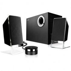 Sistem boxe M-200 Platinum, 2.1canale, 50W - Boxe PC Microlab