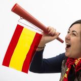 Trompetă Steagul Spaniei