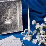 Interblocare inimi Set de design de nunta stilou
