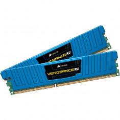 Memorie DDR3 16GB 1600MHz,2x8GB, BLUE Vengeance LP CML16GX3M2A1600C10B, Corsair