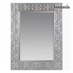 Oglindă Pătrat Argintiu - Queen Deco Colectare by Homania - Oglinda hol