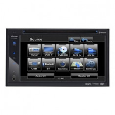 Sistem DVD Multimedia 2-DIN cu Ecran DE 6,2 inchi Clarion
