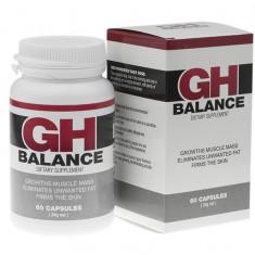 GH BALANCE  Hormonul natural de creștere 60 capsule ORIGINAL
