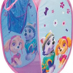 Sac pentru depozitare jucarii Paw Patrol Girl, Textil, Multicolor