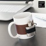 Cană Ceramică și cu Ploscă Metalică Gadget and Gifts