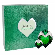 Apa de parfum Thierry Mugler Aura Dama 50ML Edp Refillable 50 ml + Edp 5 ml - Parfum femeie