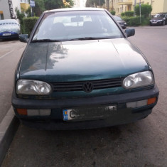 Vand vw golf 3, 1.4 benzina, An Fabricatie: 1995, 295000 km, 105 cmc
