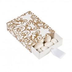 12 x aur nunta Cutii Pull Favor - Marturii nunta
