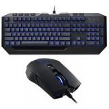 Tastatura + Mouse Gaming Cooler Master Devastator II, tastatura semi-mecanica