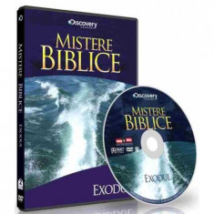 Mistere biblice- Exodul, DVD, Romana, discovery channel