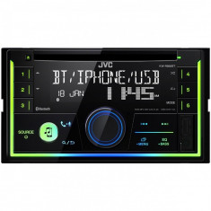 Radio CD auto KW-R930BT, 2DIN, 4x50W, USB, AUX, Bluetooth, Subwoofer control, Culori variabile - CD Player MP3 auto JVC