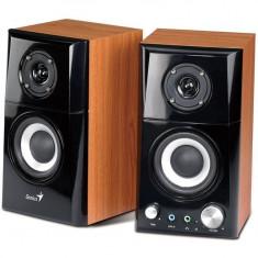 Boxe PC Stereo SP-HF500A, 14W, lemn, Genius