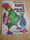 DIDI BALMEZ--CARTE DE BUCATE ALESE