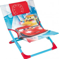 Scaun pliant pentru plaja Cars 3
