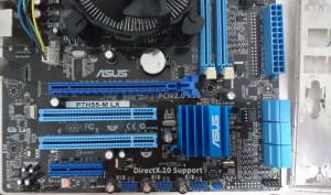 Kit Asus P7H55-M LX+ i3 540 +4Gb socket 1156