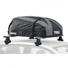 Cutie portbagaj Thule Ranger 90 Black-Silver