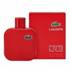 Parfum de barbat Eau de Lacoste L.12.12. Rouge Eau de Toilette 100ml