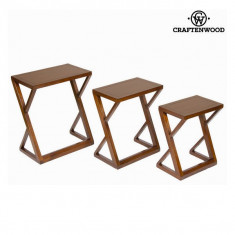 Set de 3 mese cuib - Serious Line Colectare by Craftenwood - Masa living