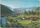 Bnk cp Valea Bistritei la Iacobeni - Vedere  - circulata, Printata