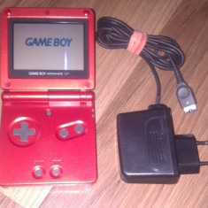 Gameboy Advance SP Rosu + incarcator - Nintendo DS