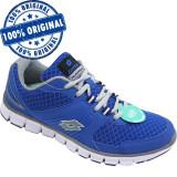 Pantofi sport Lotto Ease pentru barbati - adidasi originali - adidasi alergare, 41, 43, 44, Albastru, Textil