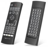 Telecomanda Smart TV, Airmouse 3D, tastatura wireless, iluminata, Forever SR-110