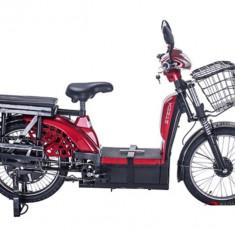 Bicicleta electrica, tip scuter nu necesita inmatriculare ZT-33 LASER ROSU