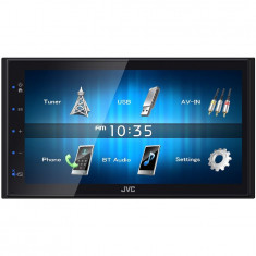 Multimedia Player auto KW-M24BT, 6.8 inch, Bluetooth, MOS-FET 50W x 4 - CD Player MP3 auto JVC