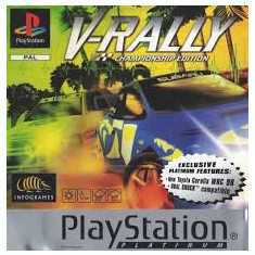 V-Rally PLATINUM  - PS1 [Second hand], Multiplayer, Curse auto-moto, 3+