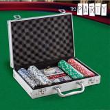 Set de Poker cu Servietă Luxe Th3 Party (200 jetoane)