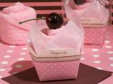 """""""Dulce tratează Colectia"""" Pink Cupcake prosop favoare."""