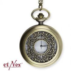 Ceas de buzunar Vintage Time - bronz