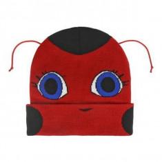 Căciulă pentru Copii cu Antene Lady Bug 628 - Caciula Copii