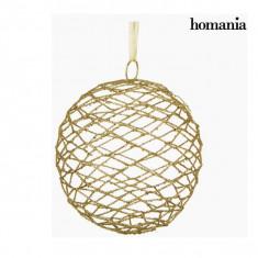 Glob de Crăciun Fier Auriu* by Homania - Globuri brad