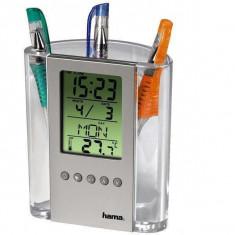 Termometru LCD suport de pix 75299 - Statie meteo Hama