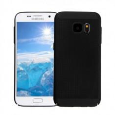 Husa Metallic Mesh Samsung Galaxy S7 Edge BLACK