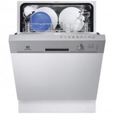 Masina de spalat vase semi-incorporabila ESI4201LOX, 9 seturi, 5 programe, 3 temperaturi, clasa A+ - Masina de spalat vase incorporabila Electrolux