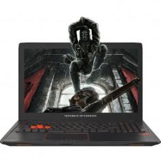 Laptop ASUS Gaming 15.6'' ROG GL553VD, FHD, Intel Core i7-7700HQ , 16GB DDR4, 1TB 7200 RPM, GeForce GTX 1050 4GB, FreeDos, Black metal