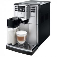 Espressor Philips automat Saeco Incanto HD8917/09, 1850 W, recipient lapte integrat, 5 varietati de cafea, AquaClean, 15 bar, 1.8 l, inox/negru