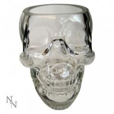 Pahar sticlă Craniul de cristal