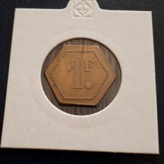 Jeton vechi 1 Franc
