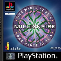 Who wants to be a millionaire - PS1 [Second hand], Multiplayer, Simulatoare, Toate varstele