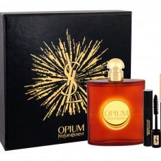 Apa de toaleta Yves Saint Laurent Opium Dama 90ML Edt 90 ml + Mascara Volume Effet Faux Cils N 1 2 ml + Eye Pencil Waterproof 1 0, 8 g - Parfum femeie