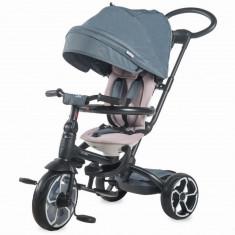 Tricicleta multifunctionala Coccolle Modi+ Gri - Tricicleta copii