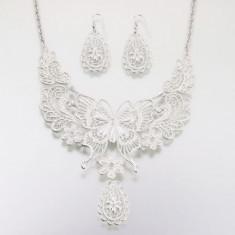 Butterfly Set bijuterii - argint